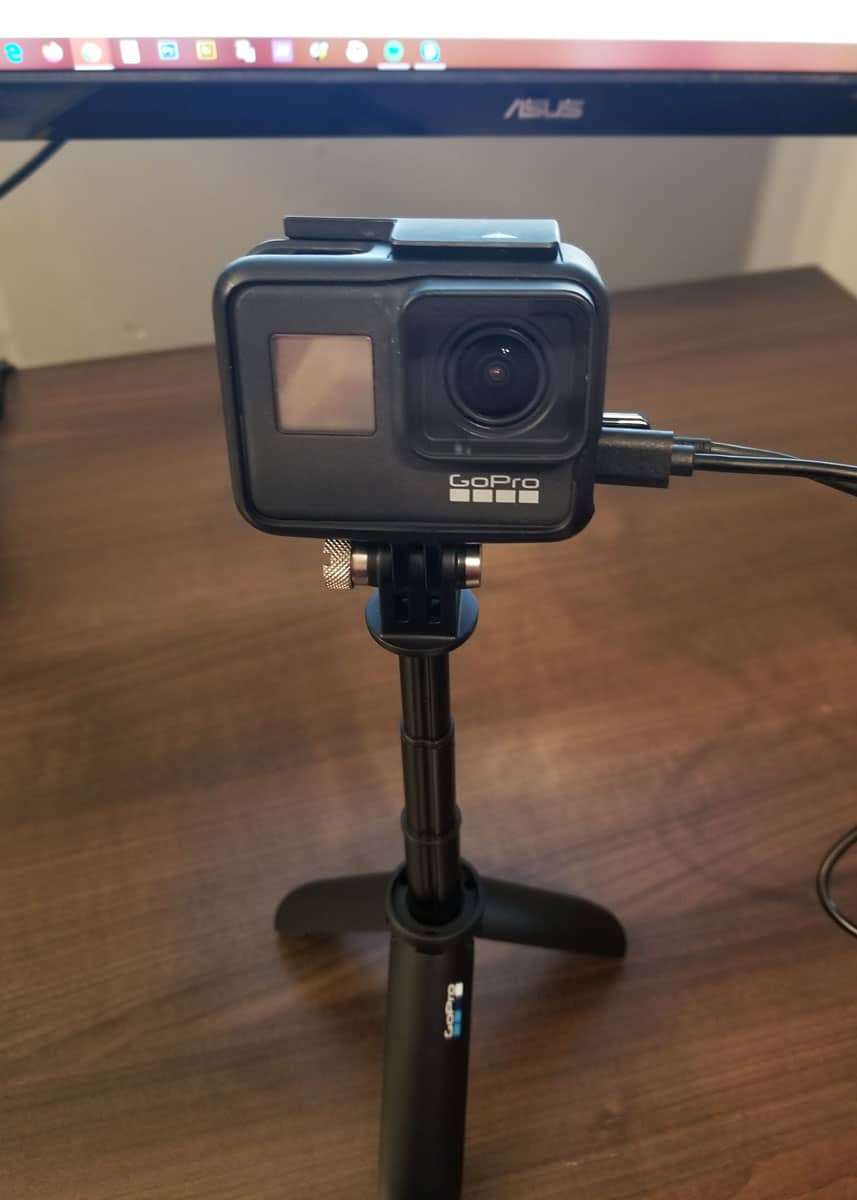 use gopro as a webcam